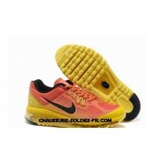 Nike Air Max 2013 Release Orange Jaune Homme Air Max Trainer