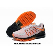 Nike Air Max 2015 Homme Blanc Orange Noir Nike Air Max 2015