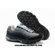 Nike Air Max 95 360 Wire Drawing Noir Gris Homme Nike Air Max Speed