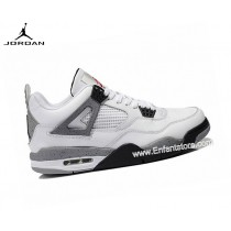 Nike Homme Sneakers Air Jordan 4/Iv Retro 2012 White Cement 308497-103