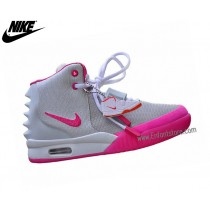 Nike Chaussures De Course Femme Air Yeezy 2 Gs Rose 508215-001
