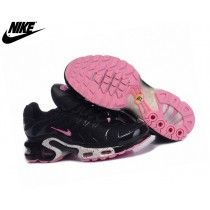 Nike Tn Requin/Nike Tuned 1 Fille Run Chaussures Noir/Pink