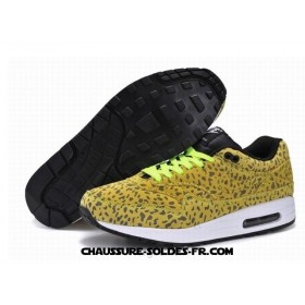 Nike Air Max 1 2014 Cheetahs Jaune Homme Air Max One Homme