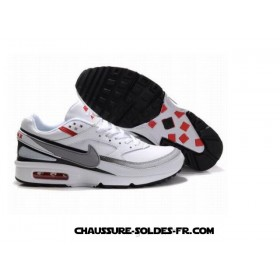 Nike Air Max Classic Bw Homme Blanc Gris Rouge Nike Air Max Classic Bw