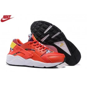 Homme Nike Air Huarache Orange/Jaune/Blanc France
