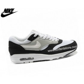 Nike Air Max 1 Baskets Homme Noir/Gris