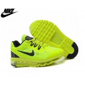 Nike Air Max  - Chaussures Basket_Ball Garçon Jaune