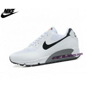 Nike Baskets Running Air Max 90 Hyperfuse Usa Blanc 454446-886