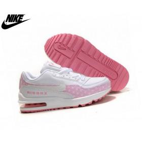 Nike Air Max Tld Chaussures De Course Fille Blanc/Rose Officiel