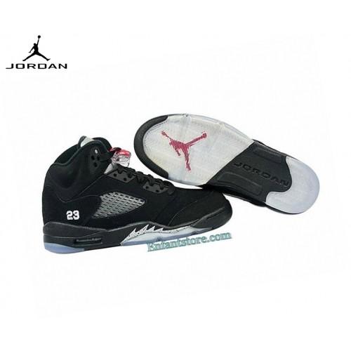 Nike Air Jordan 5/v Retro Gs Baskets Running Nior 440888-010