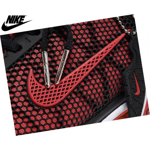 Nike Air Max+ Fitsole2 Homme Running Chaussures Rouge/Noir