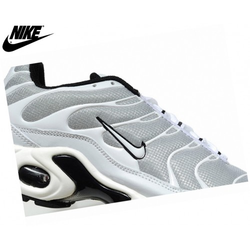 Nike Homme Chaussures De Course Tn Requin/Nike Tuned Argent